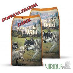 Taste of The Wild Prairie Puppy 2x12,2 kg