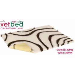 Vetbed protiskluz-Drybed béžovohnědá 100x75cm 2000g,30mm