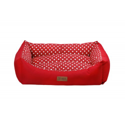 Pelech TARTE XL červený/červený puntík